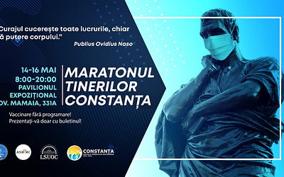 La Constanța, se organizează primul maraton de vaccinare destinat tinerilor!