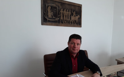 Respectând tradiția, Iulian Soceanu, primarul orașului Techirghiol și-a prezentat raportul de activitate pe anul 2020